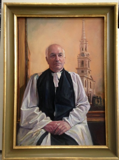 Portrait of The Ven. Dr William Jacob by Yanko Tihov
